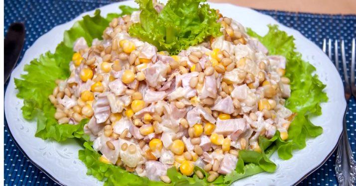 Вкусный и нежный праздничный салат «Буржуй»