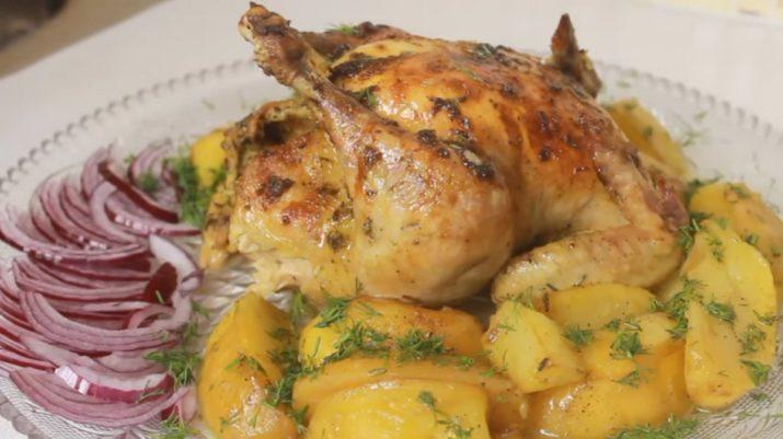 Вкусная курочка с картошкой к Новому году: быстро и недорого