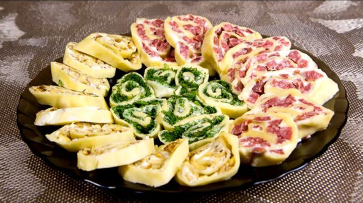 Оригинальные сырные рулетики: закуска на праздничный стол