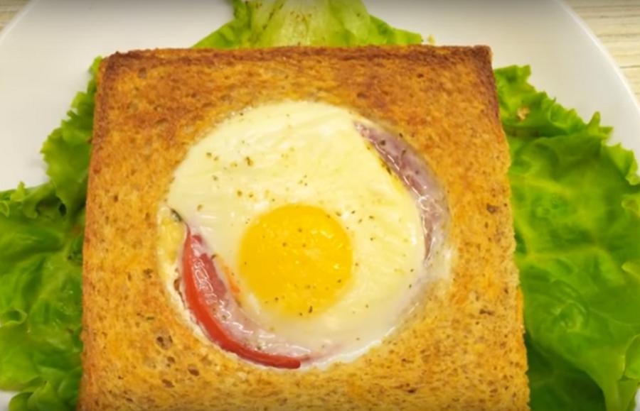Быстрые горячие бутерброды (пироги) в духовке