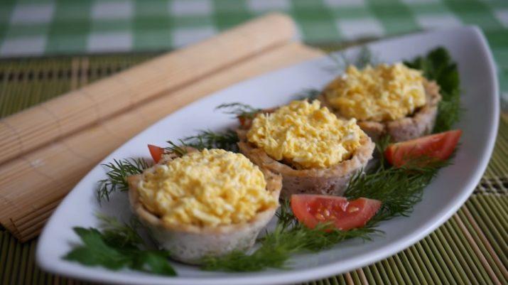 Шикарная закуска: мясные стаканчики с начинкой