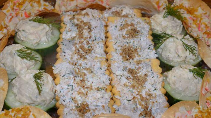 Идеи необычных закусок к празднику из простых продуктов