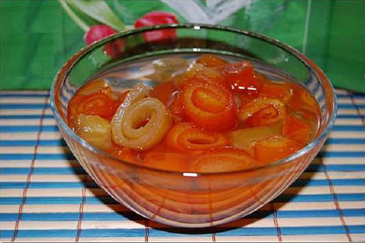 Варенье из мандариновой кожуры: зимний рецепт