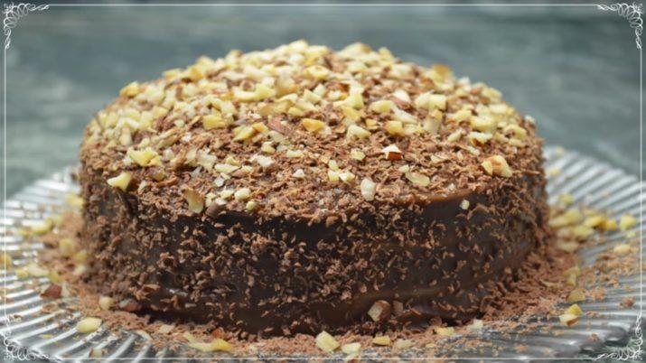 Шоколадно-апельсиновый торт из блинчиков – это просто бомба