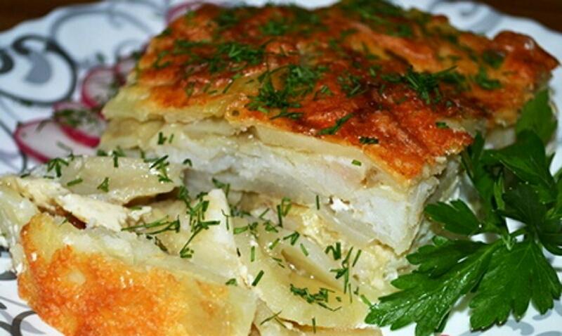 Три вкуснейших блюда с филе пангасиуса