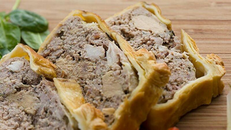 Обалденное блюдо - паштет в тесте