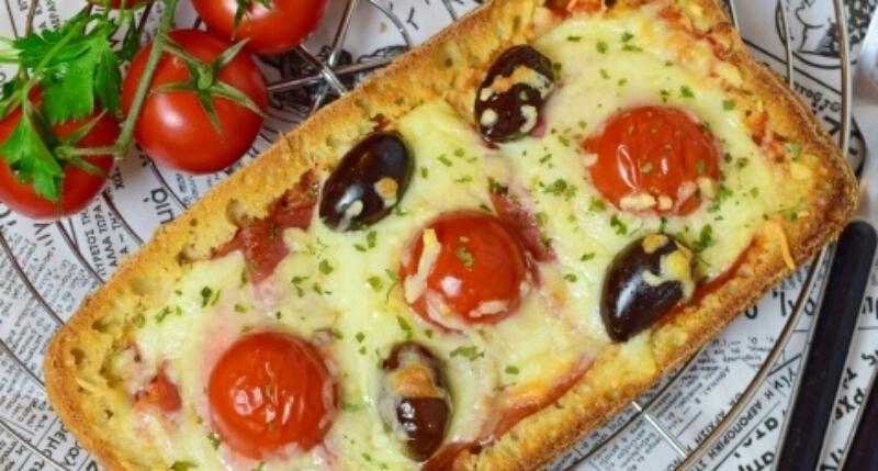 Обалденная пицца из хлеба