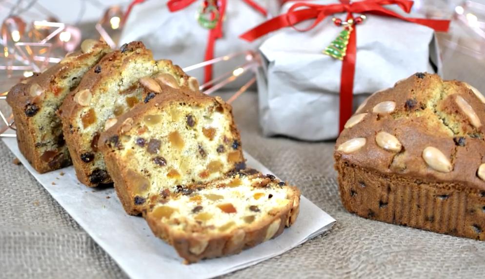 Вкуснейший рождественский кекс с цукатами
