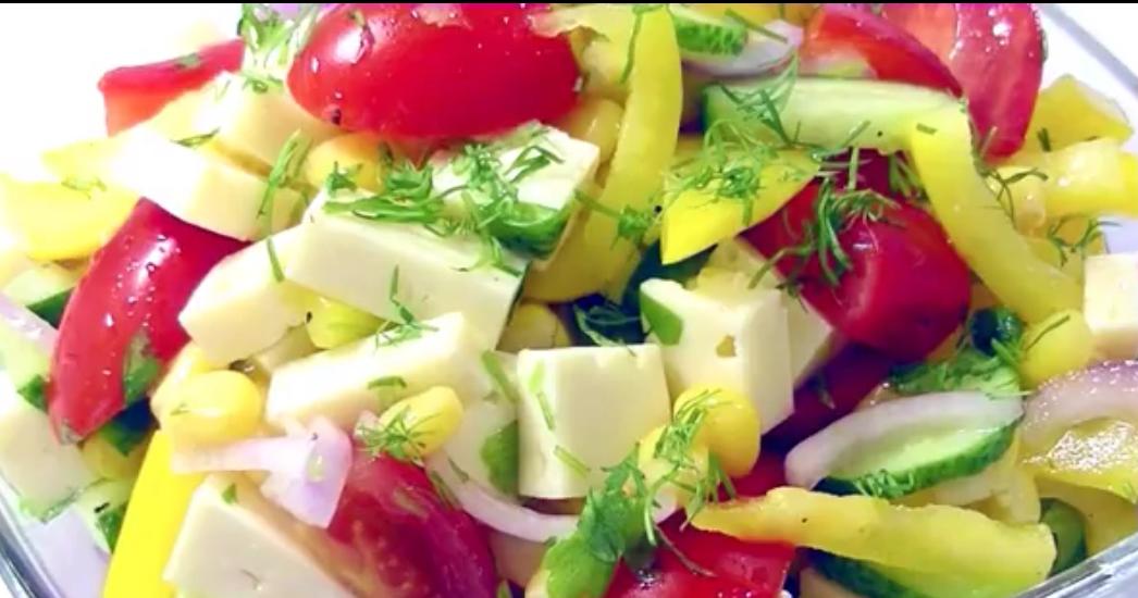 """Отличный салат на каждый день """"Хорошее настроение"""""""