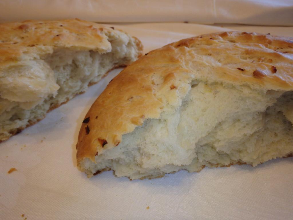 Ароматнейший домашний луковый хлеб
