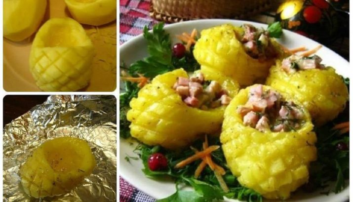 Эффектная горячая закуска из картофеля «Лапти»