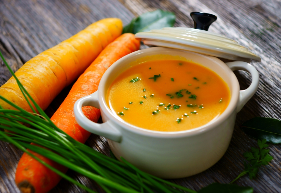 Морковный суп с имбирем рецепт