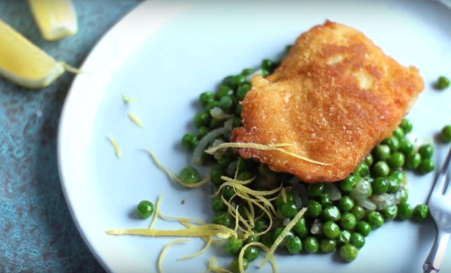 Форель в картофельных хлопьях - не рыба, а мечта
