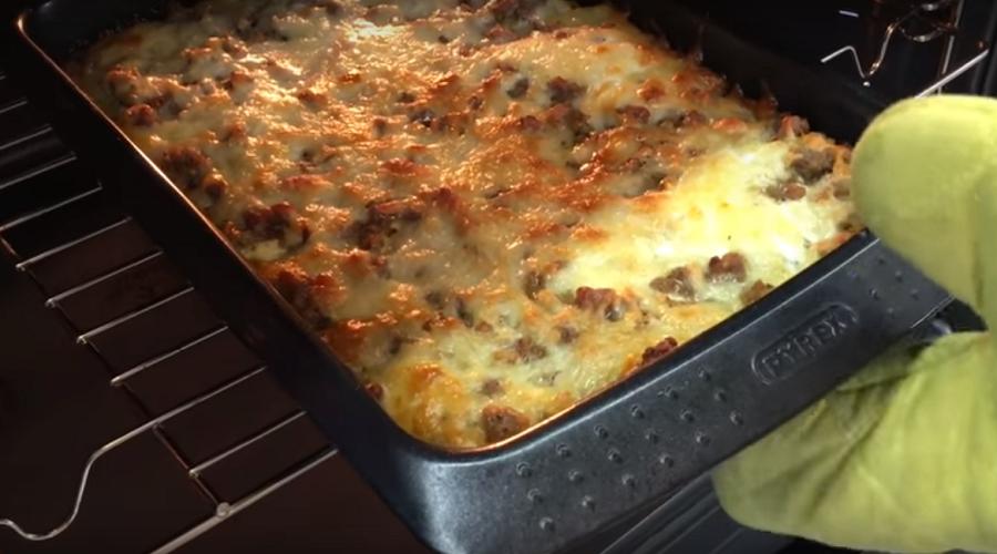 Картофельная лазанья: съедается за обе щеки