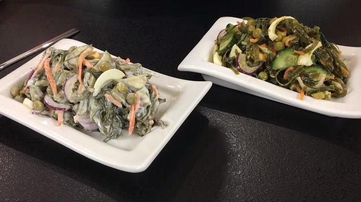 Шикарный салат за две минуты: очень просто, быстро и вкусно
