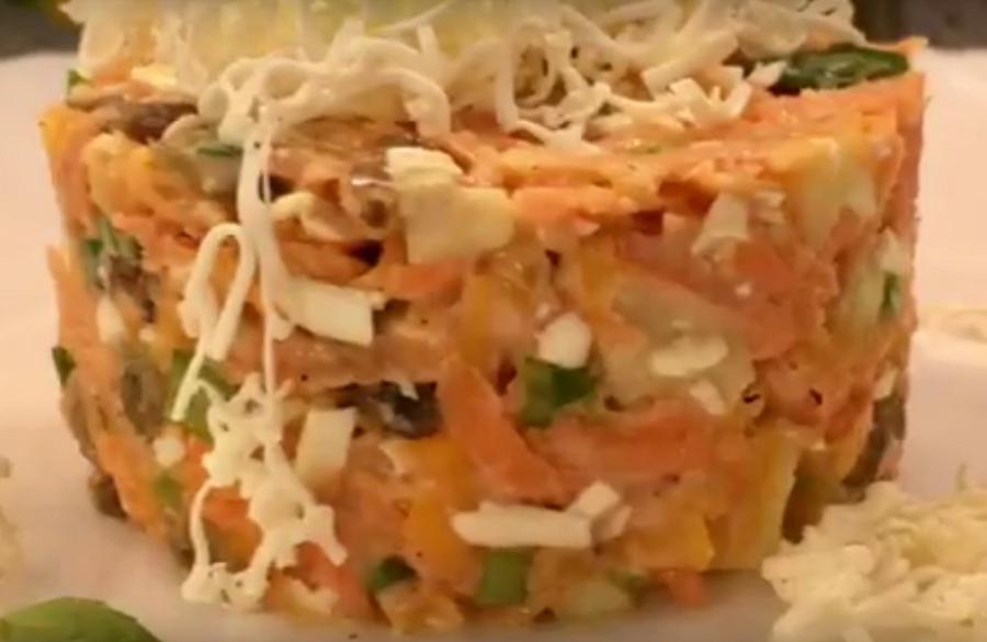 Вкуснейший витаминный салатик