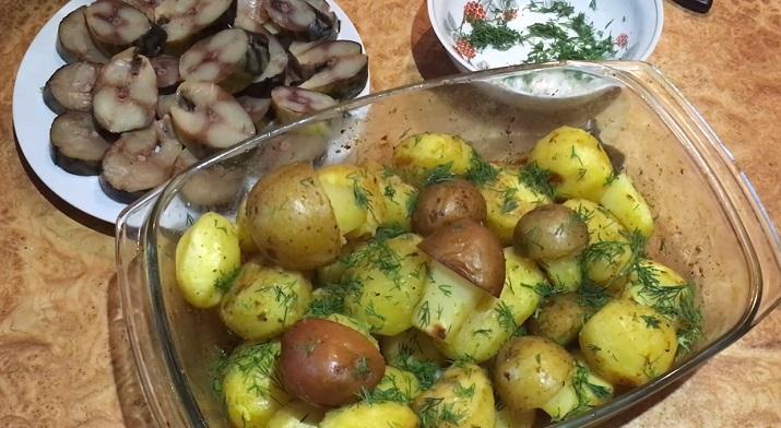 Самый лучший и ароматный картофель: просто объедение