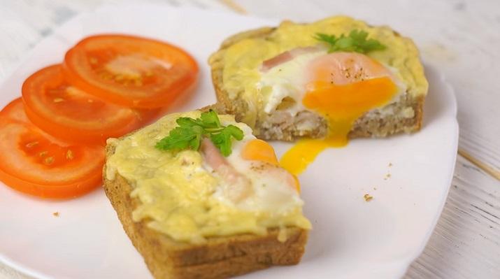 Идеальные горячие бутерброды для завтрака