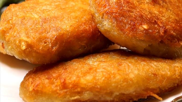 Блюдо моего детства: ландорики из картофеля с мясом