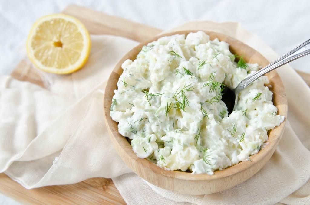 Салат из трески с картофелем-вкусное и сытное блюдо