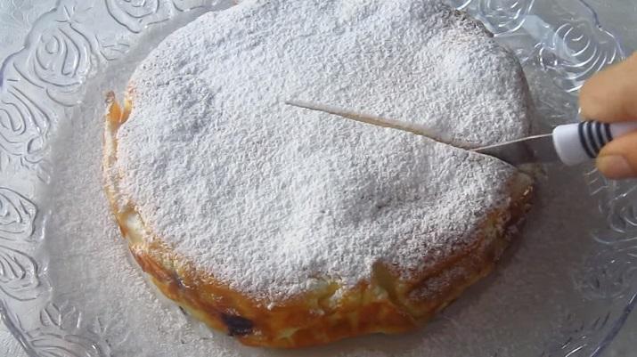 Красивый, необычный и очень вкусный пирог «Кружева» за 10 минут