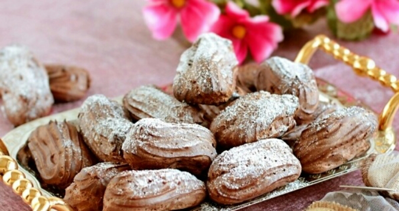 Божественные шоколадные эклеры: влюбляешься с первого кусочка