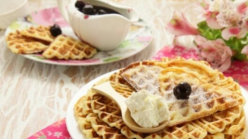 Вкуснейшие творожные вафли: от них невозможно оторваться
