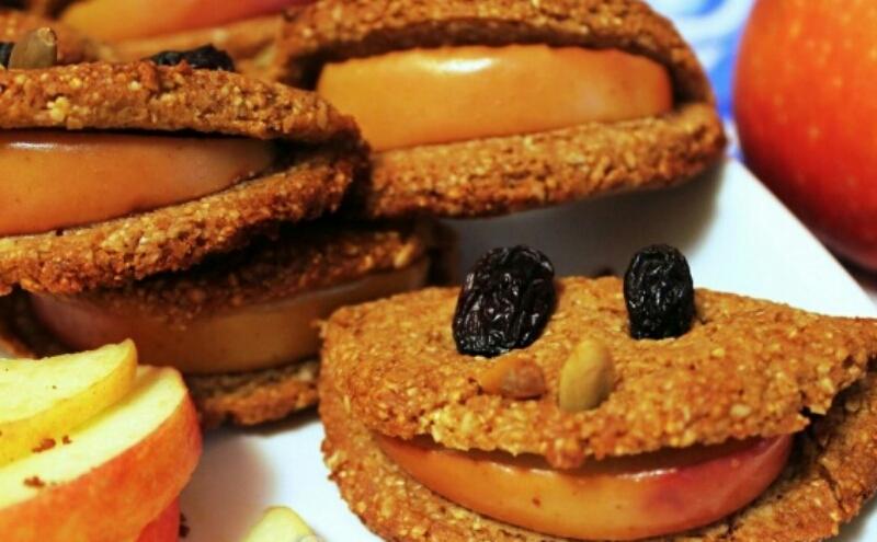 """Вкуснейшее печенье """"Улыбка"""" с яблоком"""