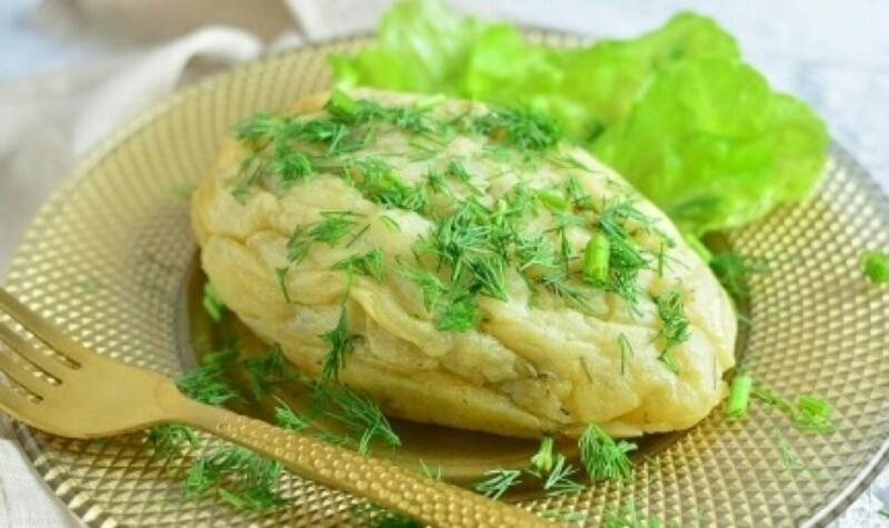 Очень аппетитные картофельные зразы с грибами в духовке