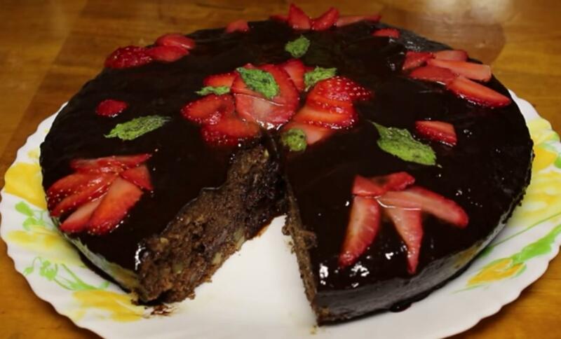 Готовим в мультиварке: вкуснейший шоколадный пирог