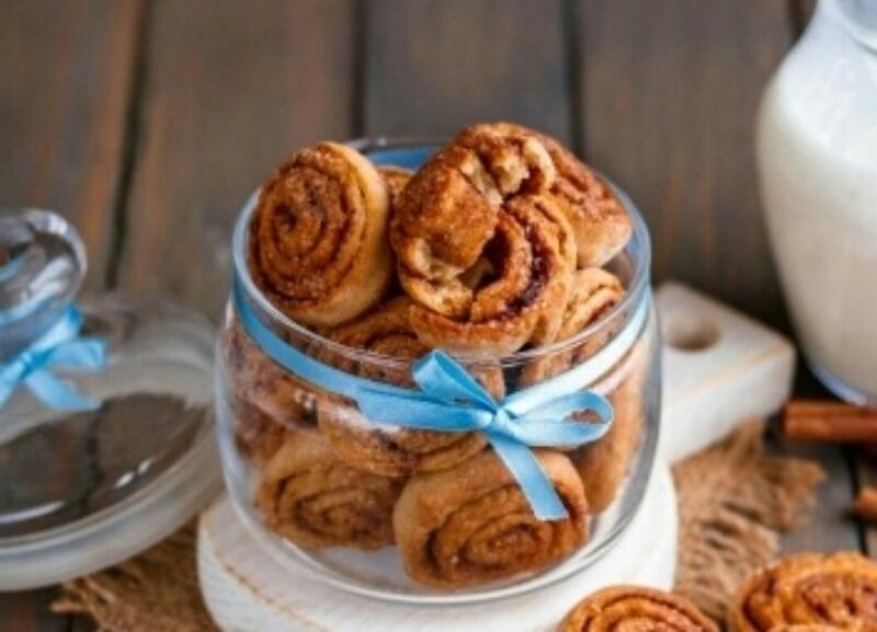 Обалденное печенье на кефире без яиц