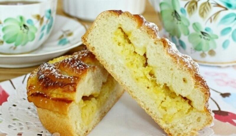 Вкуснейшие булочки с лимонной начинкой
