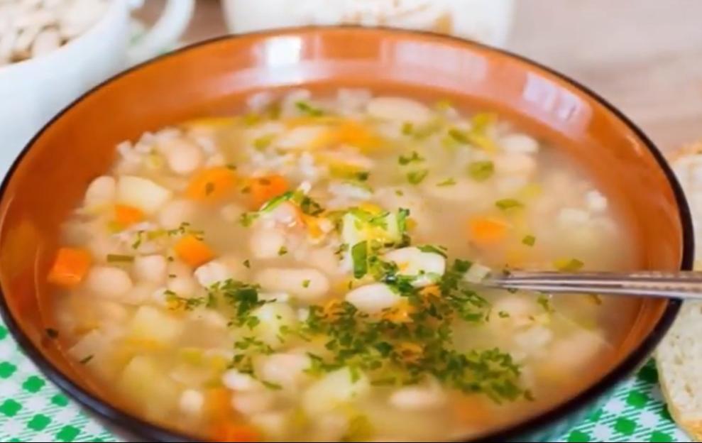 Вкуснейший фасолевый суп на каждый день из доступных ингредиентов