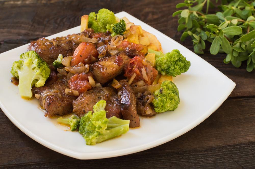 Изумительное блюдо: говядина с брокколи