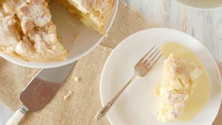 Ирландский яблочный пирог с курдом: безумно вкусный десерт