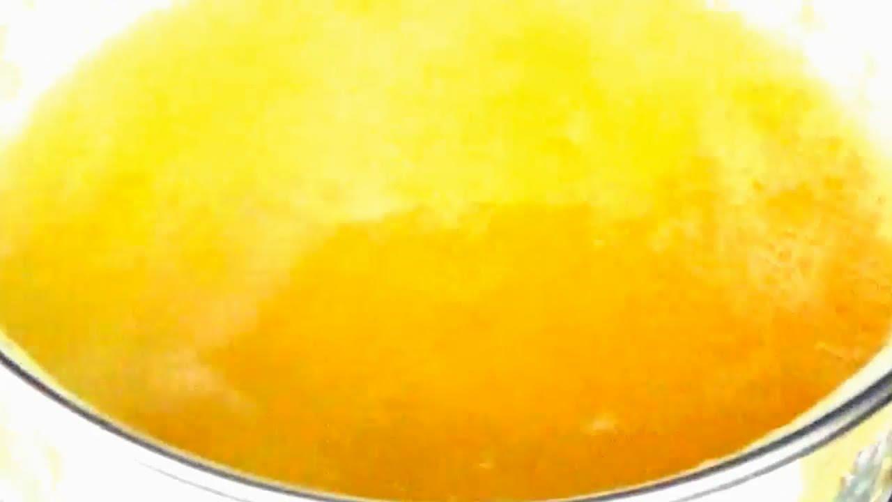 Апельсиновый сироп для пропитки бисквита