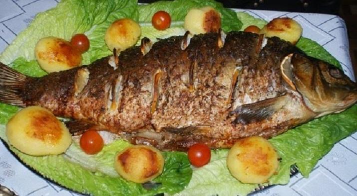 Изумительная запеченная рыба к Сочельнику