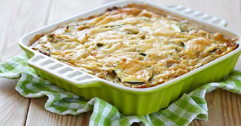 Супер полезный ужин: лазанья из кабачков