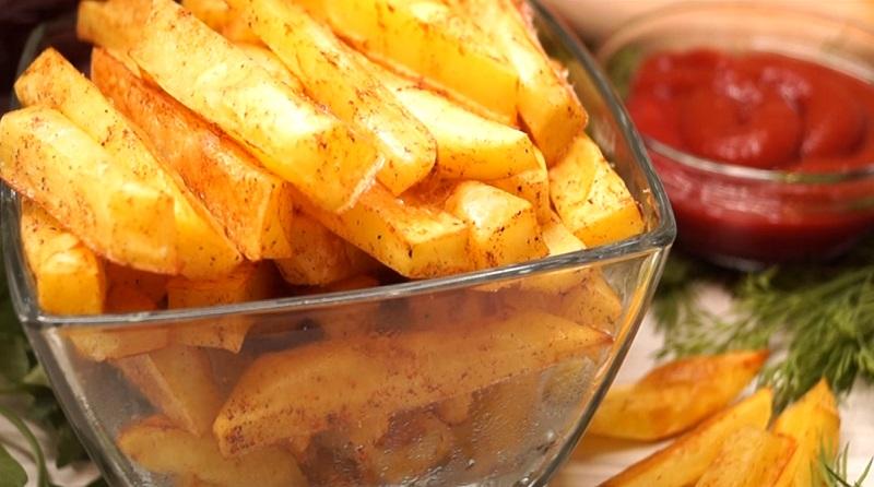 Картошка фри за 10 минут: без грамма масла