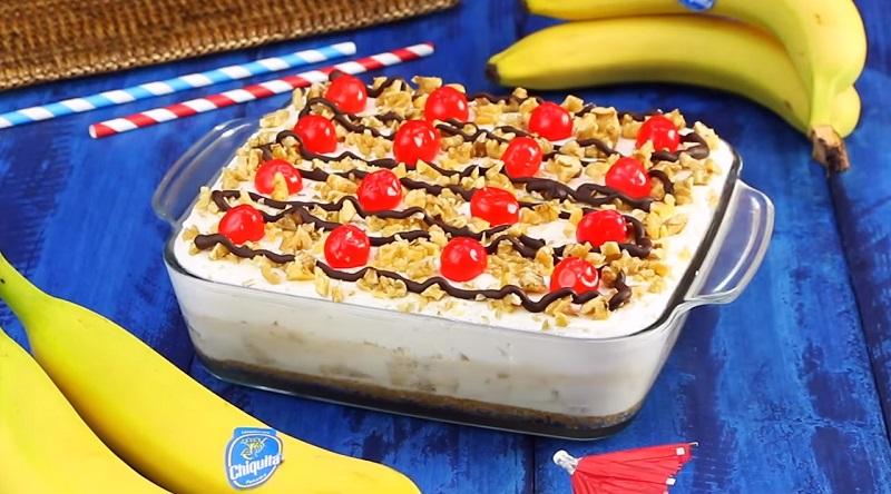 Банановый торт-суфле: десерта нежнее вы еще не пробовали