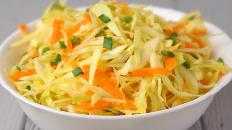 Три легких постных салата за пять минут: просто, вкусно и полезно