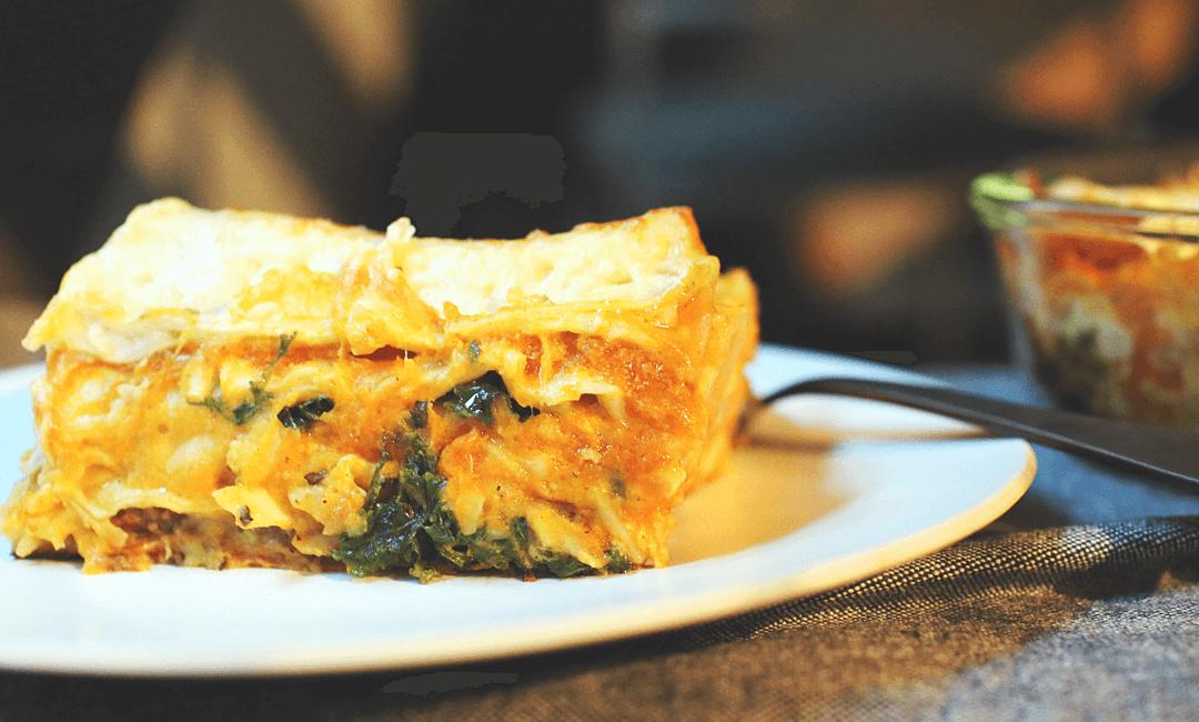 Сырная лазанья: отличный вариант белкового ужина