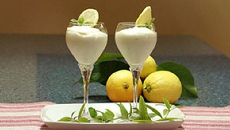 Восхитительный лимонный мусс