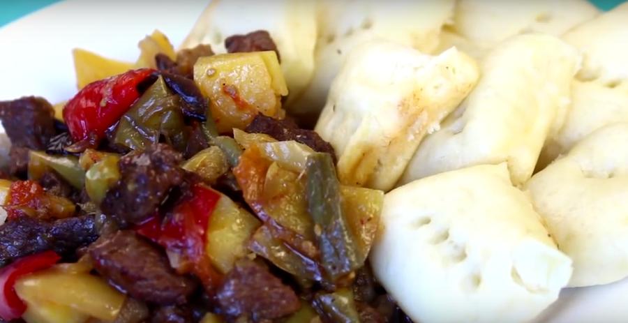 Пампушки с овощами и мясом: вкусный ужин для всей семьи