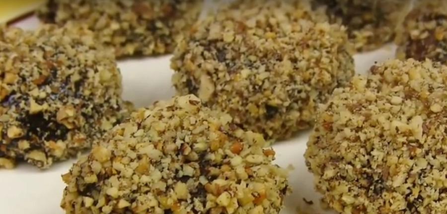"""Рассыпчатое печенье """"Каштаны"""": просто и вкусно"""