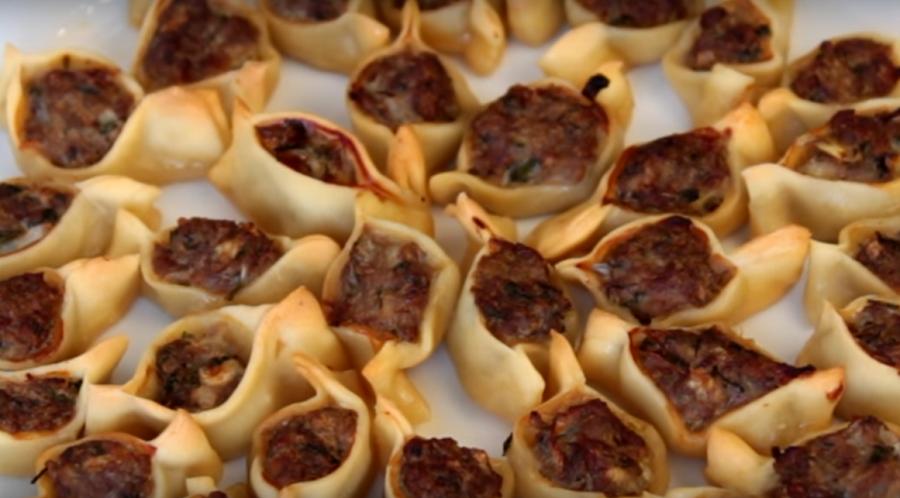 Турецкие манты в духовке. Необычайно вкусные