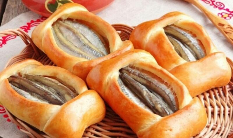 Мега аппетитные поморские кулебяки с мойвой