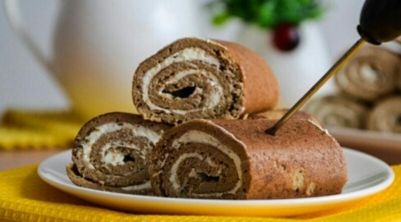 Вкуснейшие печеночные блинчики с начинкой