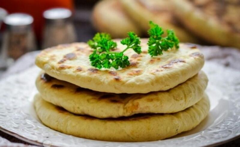 Лепешка с адыгейским сыром рецепт