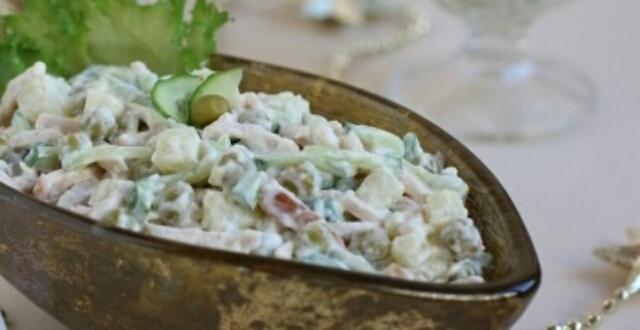 """Очень вкусный салат для праздничного стола """"Влажский"""""""